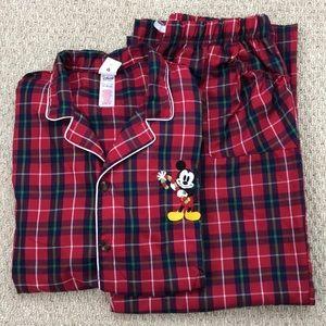 Disney Mickey Mouse 2 piece Pajama Set